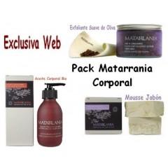 Pack Matarrania Corporal...