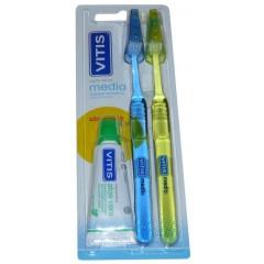 Duplo Cepillo Dental Vitis...