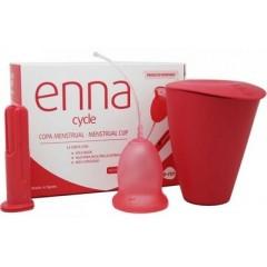 Copa Menstrual Enna Cycle S 2uds + aplicador + Enna Box
