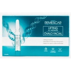 Remescar Instant Lifting Óvalo Facial 5 Ampollas