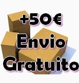 Gastos de envío gratuitos en envíos de más de 50 €